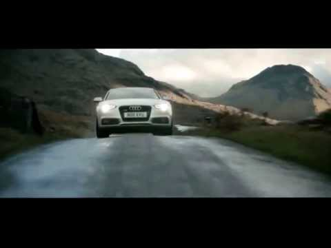 Theo James voices a UK Audi ad