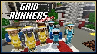 Grid Runners w/ Friends | Minecraft Mini-Games