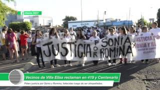 Reclamo por las mujeres atropelladas en Villa Elisa: exigen cárcel para quien las embistió