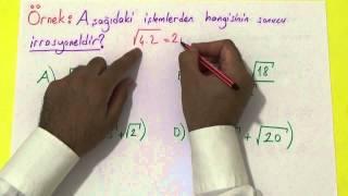 TEOG GERÇEK SAYILAR Şenol Hoca Matematik