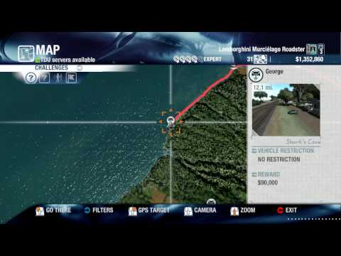 Test Drive Unlimited PC Vehicle Transport Locator in HD