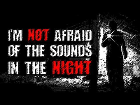 """""""I'm Not Afraid of the Sounds in the Night"""" 