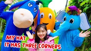 My Hat It Has Three Corners Sing And Dance Nursery Rhymes Kids Song Music for Young Children