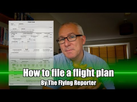 How To File A Flight Plan - The Flying Reporter