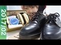 【初体験】ドクターマーチンを靴磨きしてみた! の動画、YouTube動画。