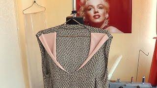 Летнее платье по выкройке из журнала ,,BURDA