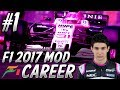 F1 2017 Mod Career Mode Part 1: Australia   Force India