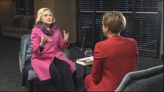 Hilary Barry's one-on-one interview with Hillary Clinton