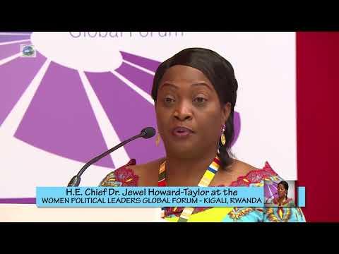 Vice President H.E. Jewel Howard Taylor in Rwanda, Kigali