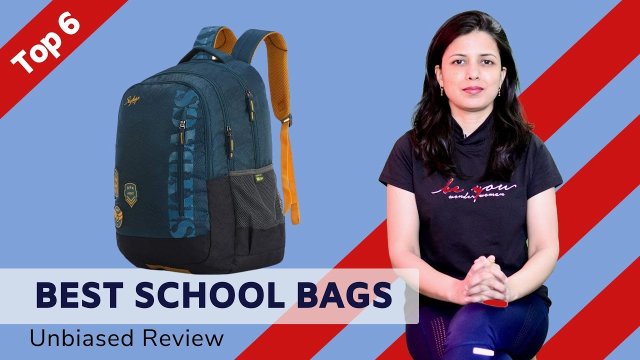 ✅ Top 6: Best School Bags 2020   School Bags for Students Review & Comparison