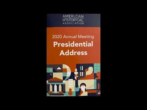 AHA 2020 Presidential Address by John R. McNeill