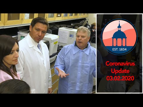 Coronavirus Update - Governor Ron DeSantis Visits Tampa
