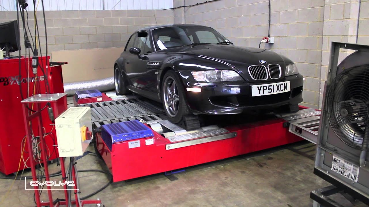 Dyno Video Of Z3m S54 With Evolve Carbon Airbox Csl Youtube