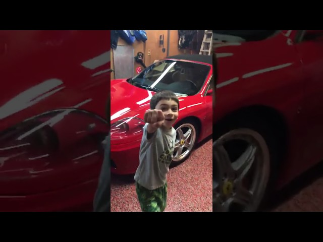Kids React To Ferrari!