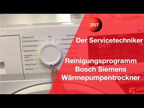 Spülprogramm Bosch, Siemens, Constructa, Zusammenfassung, So Geht Es.cleaning Program