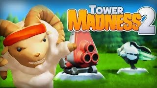 Tower Madness 2: #1 in Great Strategy TD Games Level 3-4 Walkthrough