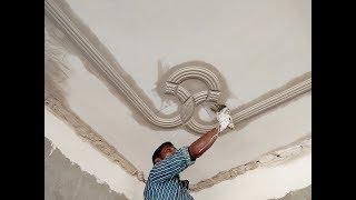 Santosh Rajbhar P.O.P Master-Cornice molding Design-P.O.P Design #32