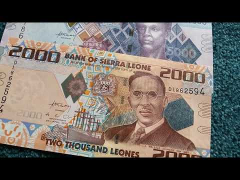 #Currency special part 31: Sierra Leone Leones