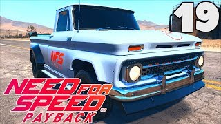NEED FOR SPEED PAYBACK (FR) - 19 : LE PICK-UP CHEVROLET  C10 STEPSIDE DE 1965 (ÉPAVE) !