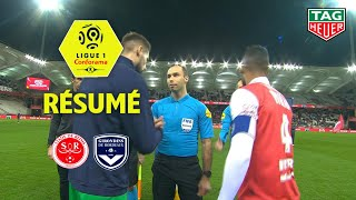 Stade de Reims - Girondins de Bordeaux ( 1-1 ) - Résumé - (REIMS - GdB) / 2019-20