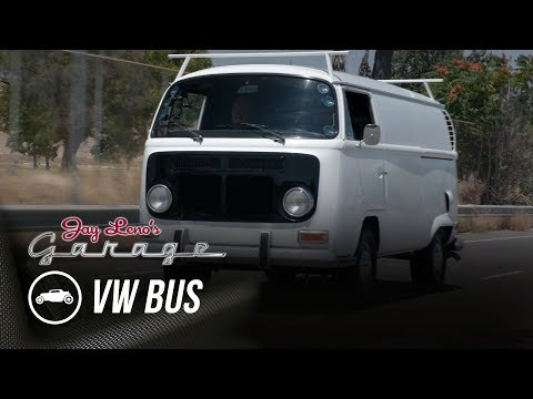 Peter Brock's Hang Glider Transporter VW Bus - Jay Leno's Garage