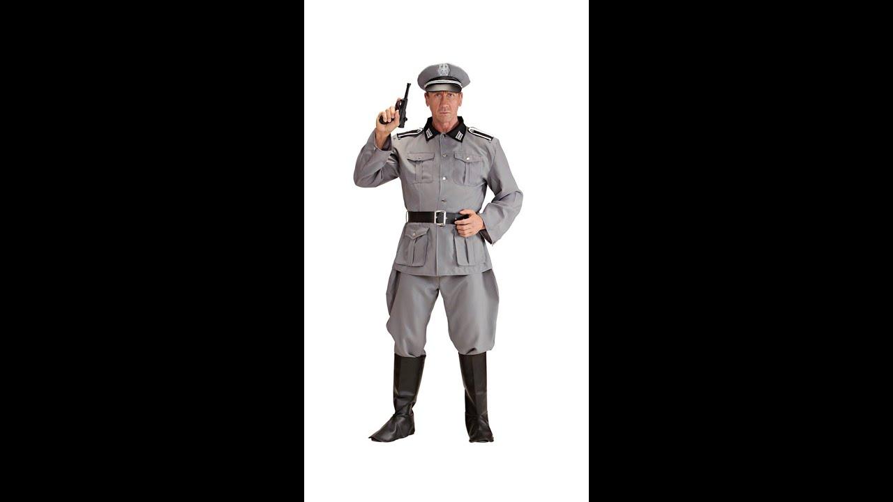 tysk soldat kostume