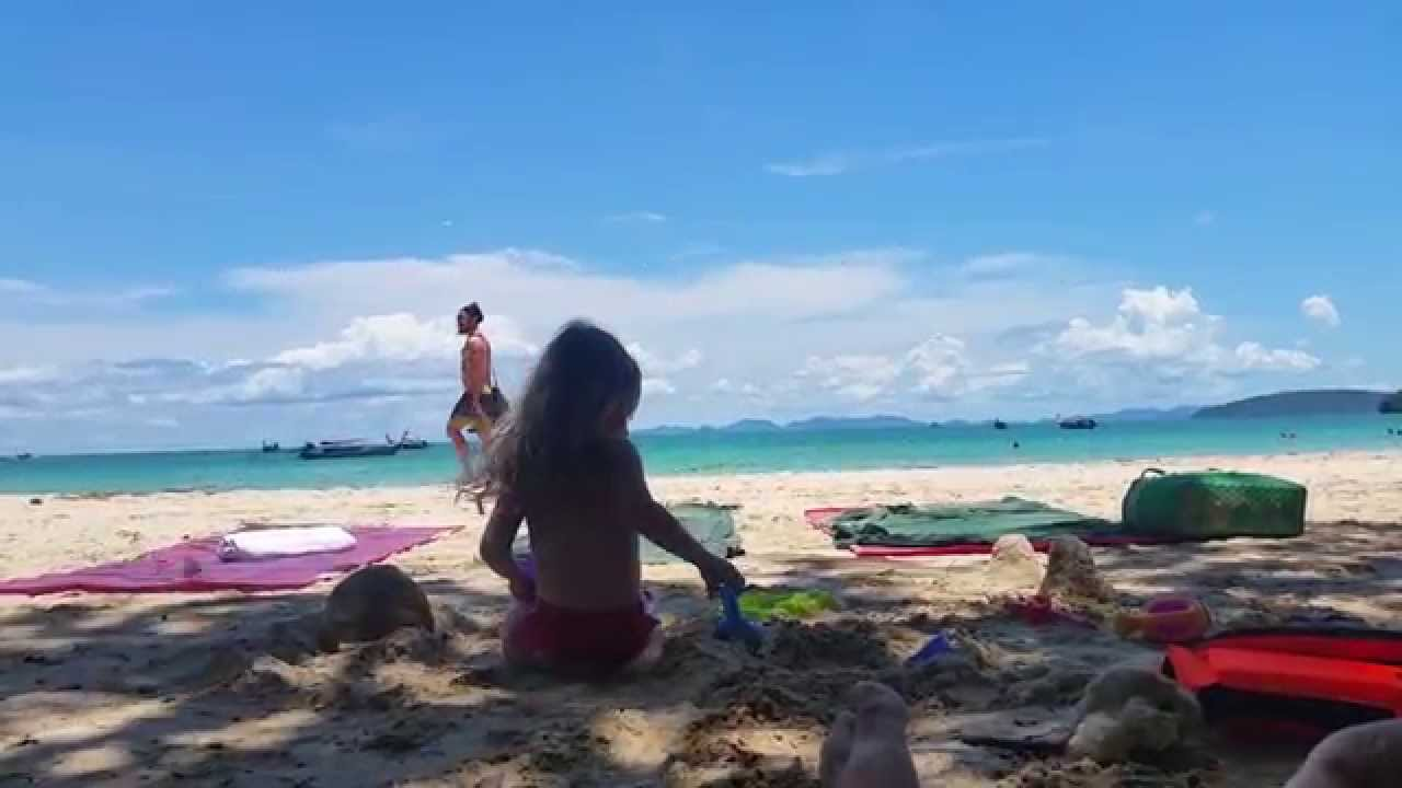 how to get to railay beach from ao nang
