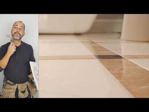 How to Install a Rectified Porcelain Tile Floor