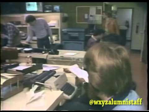 WXYZ Newsroom Alumni from circa 1979-1980