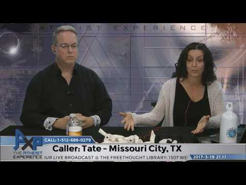 De-Conversion & God Who Wasn't There | Tate - Missouri City, TX | Atheist Experience 21.11