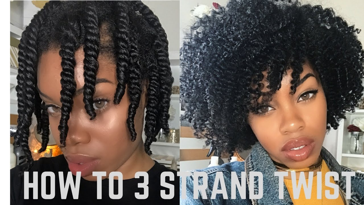 Two Strand Twists Are A Protective Style That Can Help To Minimize