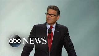 Gov. Rick Perry Introduces Navy SEAL at RNC