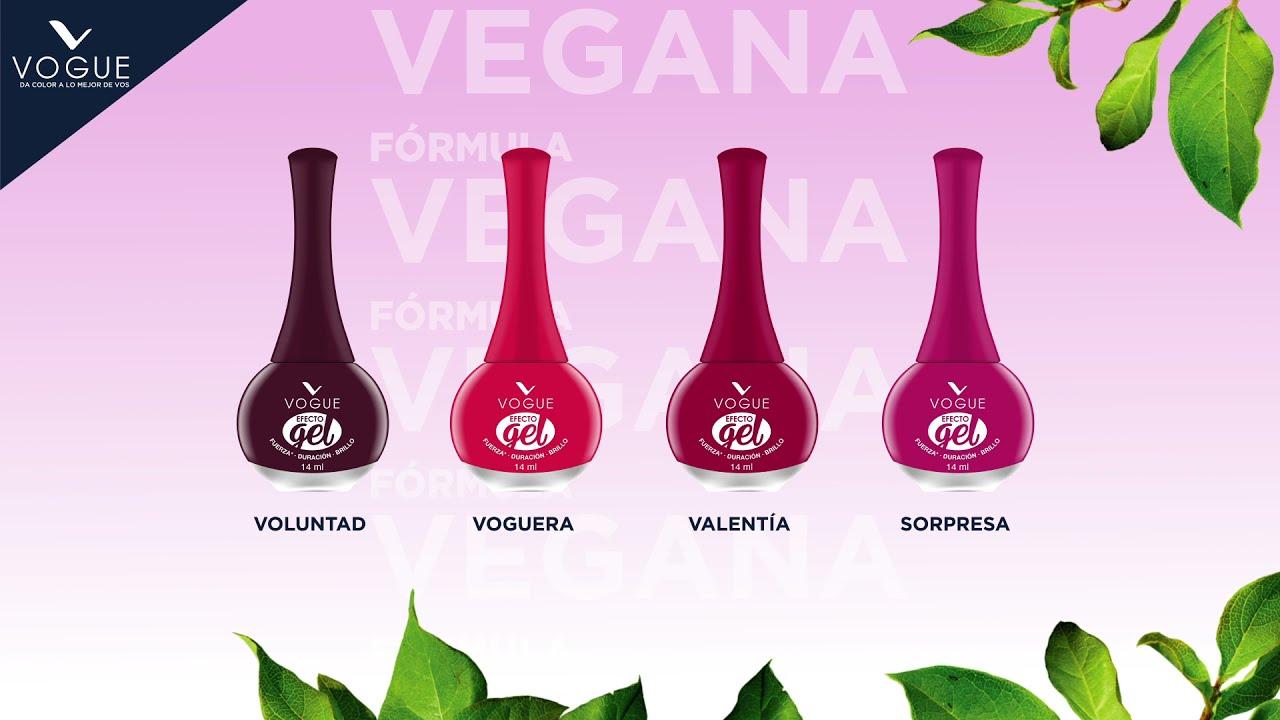 Fórmula Vegana Esmaltes efecto GEL