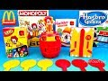 2018 McDONALD'S RONALD MCDONALD FRIENDS GAMES HAPPY MEAL TOYS HASBRO GAMING MATTEL TOMY MONOPOLY UNO