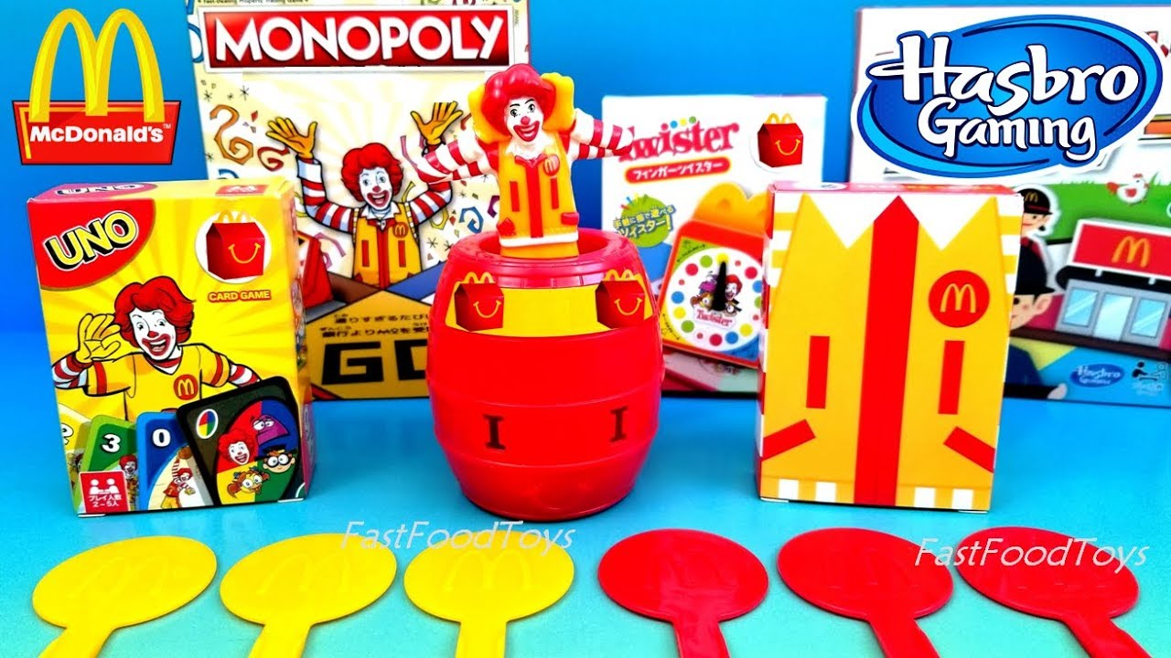 2018 mcdonald 39 s ronald mcdonald friends games happy meal. Black Bedroom Furniture Sets. Home Design Ideas