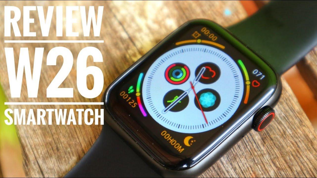 W26 Smartwatch, solusi murah untuk gaya maksimal ??