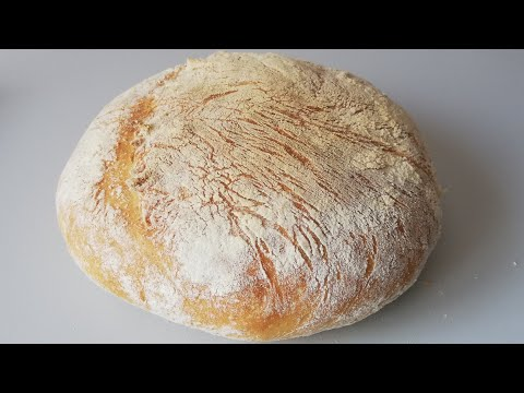comment-faire-du-pain-artisanal---pain-sans-machine-|-how-to-make-a-homemade-artisan-bread-recipe