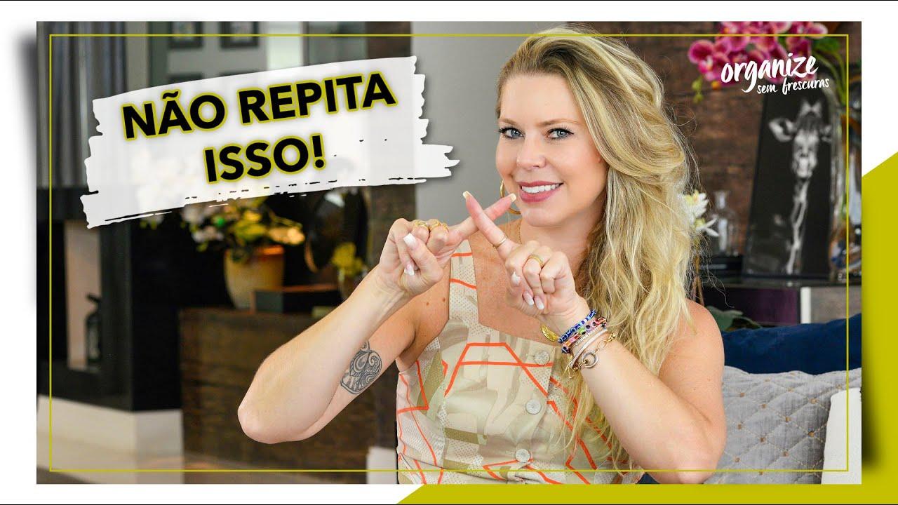 7 ERROS QUE COMETEMOS NA HORA DE LAVAR AS ROUPAS   OSF - Rafa Oliveira