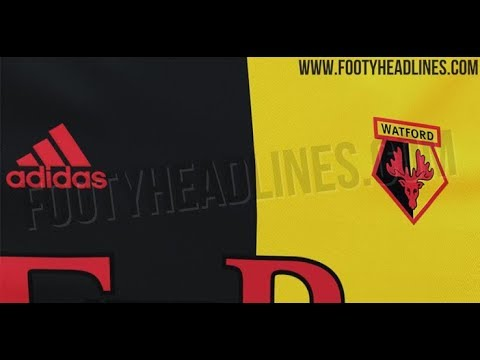 df5e4ace6ff Watford 19-20 Home Kit Leaked - YouTube