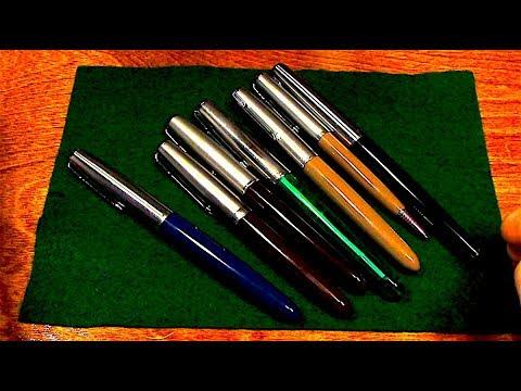 asmr fountain pen