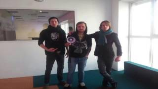 The Velvet Supernova interview Riga Radio 7/02/2012