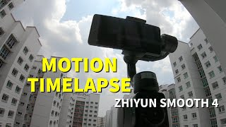 Motion Timelapse Tutorial | Zhiyun Smooth 4 Review Part 7