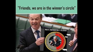 christopher pyne shot his mouth to big him up parody