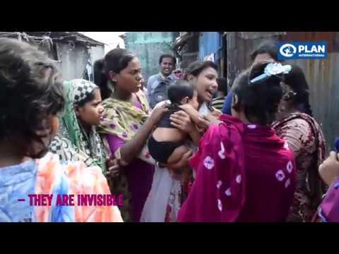 Living conditions in Dhaka slum