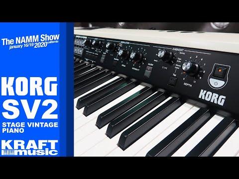 NAMM 2020 - Korg SV2 Stage Vintage Piano