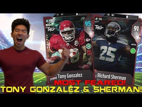 WE GET TONY GONZALEZ & RICHARD SHERMAN! Madden 18 Ultimate Team