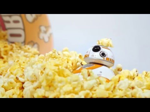 BB-8 and the Popcorn Bucket