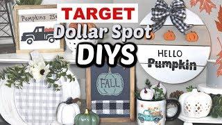 FALL TARGET Dollar Spot DIYS | Fall Target Dollar Spot DIY Decor | Krafts by Katelyn