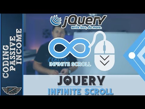 jQuery Infinite Scroll Tutorial With PHP & MySQL & Ajax (Like Facebook)