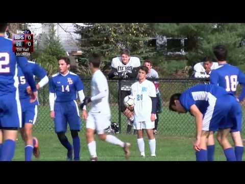 LMC Varsity Sports - Boys Soccer - Blind Brook at Rye Neck - 10/26/16